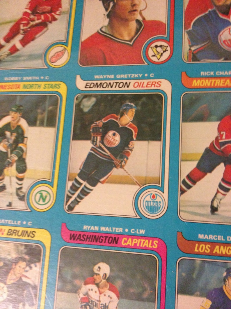 Complete 1979 80 Opc Hockey Card Set Uncut Gretzky Rookie Mint