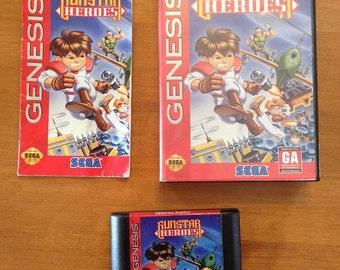 Gunstar Heroes COMPLETE (Sega Genesis, 1993)
