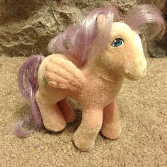 Vintage G1 My Little Pony * North Star * donc doux Pégase poney 1985