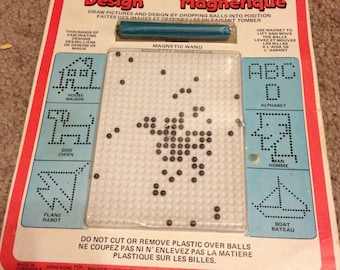RARE Vintage Magnetic Design Game NEW SEALED
