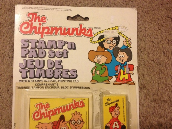 """Rare Vintage 1984 Alvin /& The Chipmunks /""""Alvin/"""" Slippers New w//Tags Size 7-8"""