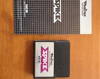 Spike Vectrex Game Plus Manual
