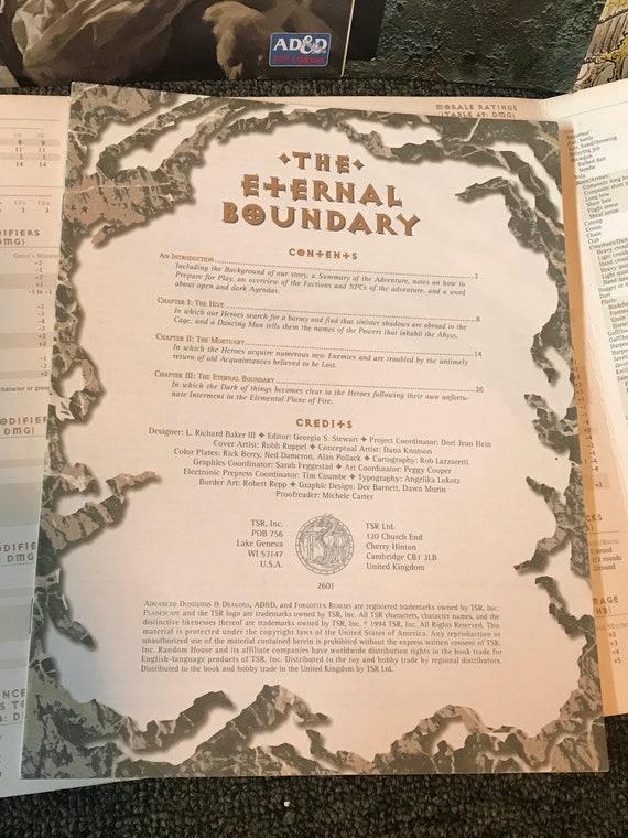eternal boundary tsr