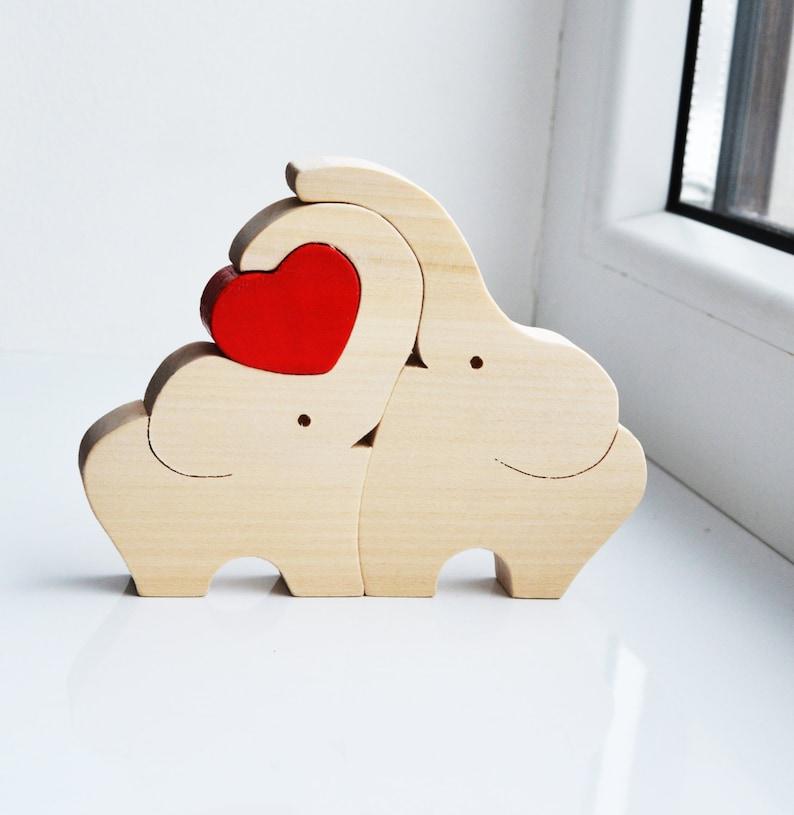 Holzpuzzle Hase Teddy Babyspielzeug Setzpuzzle