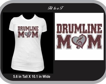 43ed58b5 Drumline Mom Marching Band T-Shirt, Band Mom T-Shirt, Band Mom Tee, Band Mom  Gift, High School Marching Band Shirt