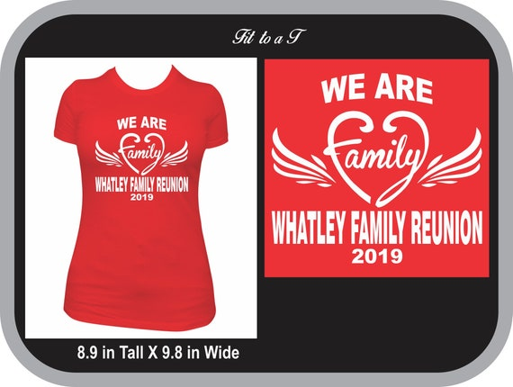 We Are Family Reunion T Shirt, Family Reunion Shirt, Reunion T Shirts, Personalized Shirts for Family Reunion