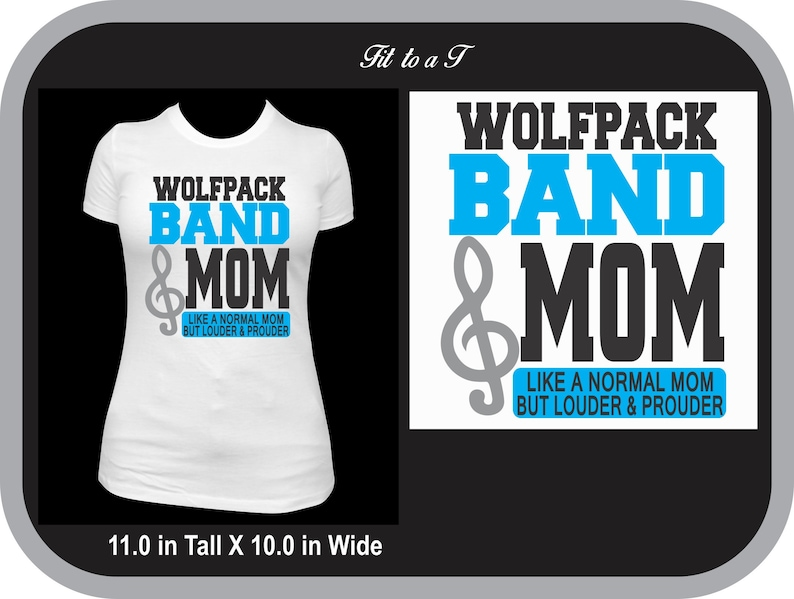 7fe99308 Marching Band Mom T-Shirt Marching Band T-Shirt Band Mom | Etsy