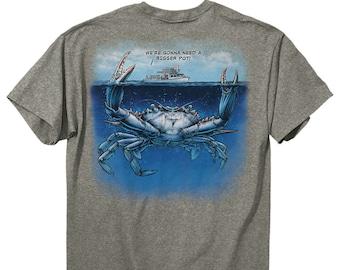 d0bff30981e6e Bigger Pot Crab T-Shirt