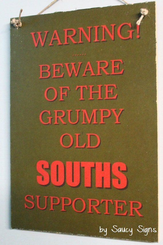 South Sydney Rabbitohs Souths Grumpy Old Rugby League Footy Etsy