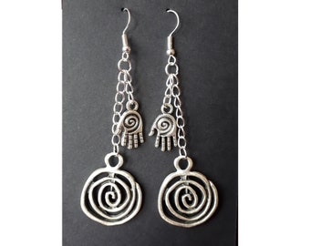 The Spiral - Earrings - The Magnus Archives