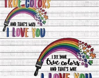 Embrace True Colors Etsy