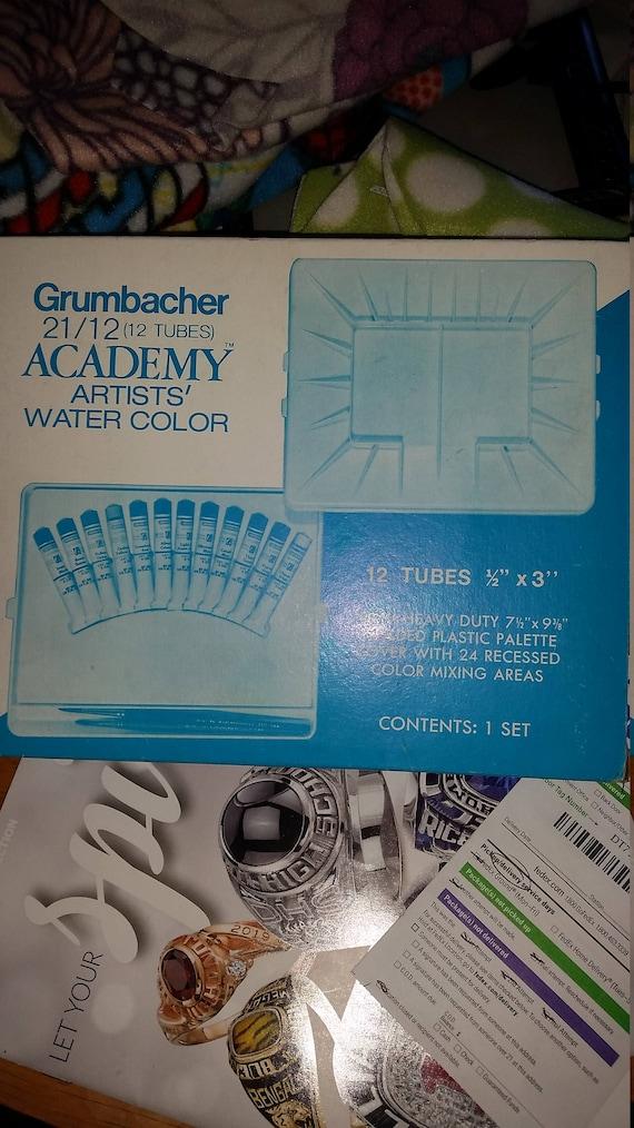 grumbacher watercolor paintinggrumbacher 21 12 academy artists etsy