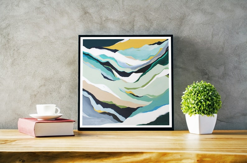 Giclée print on paper or canvas. Multiple sizes available. image 0