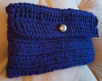 Customized Crochet Clutch