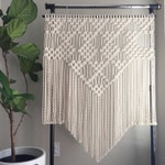 Macrame Pattern - Written PDF by Elsie Goodwin/Reform Fibers - Digital Macrame Pattern - Instant download - Name: Triangles and Diamonds