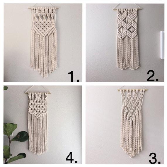Macrame Kit Beginner Wall Hanging