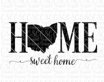 Ohio Home Svg Etsy