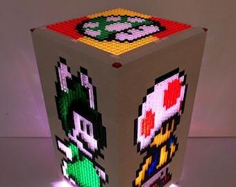 Mini Super Mario LEGO Tower Light