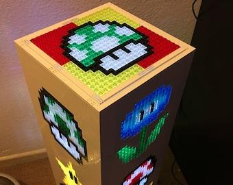 Super Mario Bros Power Up LEGO Tower Light