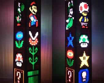 Super Mario Bros LEGO Tower Light