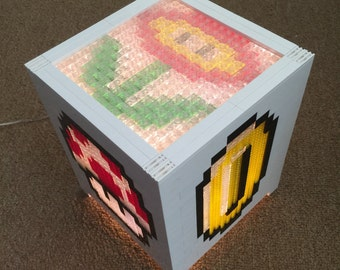Mario Brothers LEGO Power-Up cube