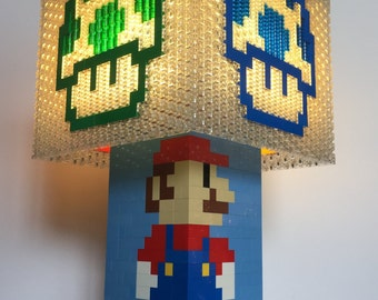 Mario Brothers LEGO Power-Up Lamp