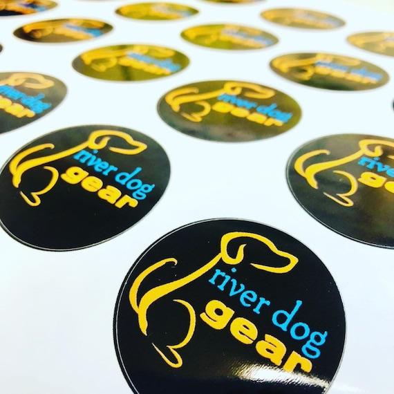 River Dog Gear Sticker
