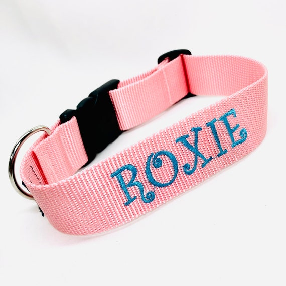 """Personalized 3/4"""" wide Dog Collar"""