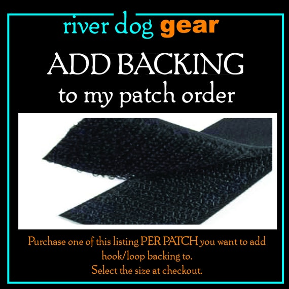 Add Backing to a Patch Order
