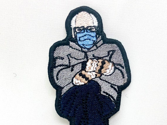 Bernie Sanders Embroidered Patch