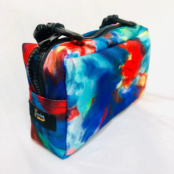 Medicine Med Bag with Zipper and Clip Attachments  - Many Colors Available