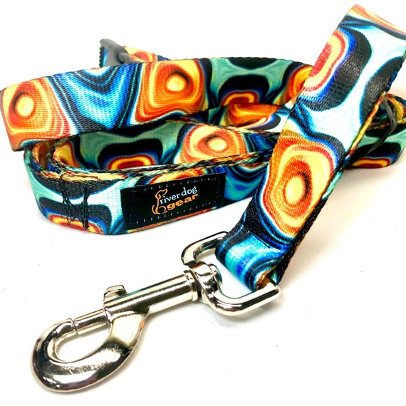 7' Hands Free Dog Leash - Picasso