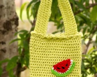 Crochet Girls Purse, Crochet Spring Purse for Girls, Crochet Girls Handbag,  Crochet Spring Handbag for girls
