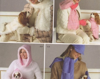 546e98095c SIMPLICITY   4316 Misses  Hat + Accessories + Matching DOG Clothes
