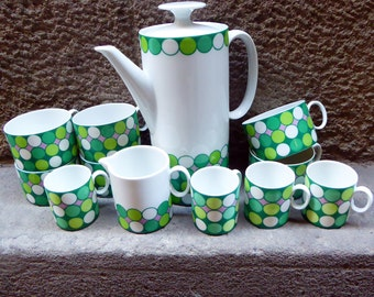 Delicious porcelain Thomas coffee service from Germany late 60s