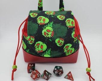 Evil Apples Dice Bag, Dice Pouch
