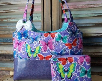 Butterfly's Child Purse