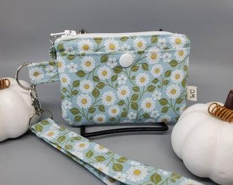 Daisy Floral Minimalist Wallet