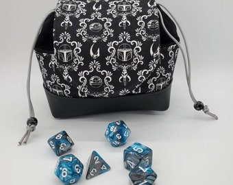 Pandora Dice Bag, Dice Drawstring Pouch