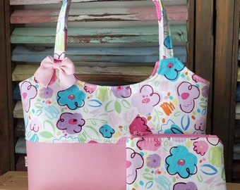 Spring Flowers Childs Purse