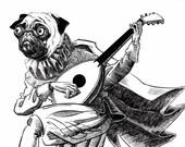 The Pugliest Bard - Black...