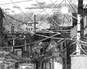 Dusk Alley - Print