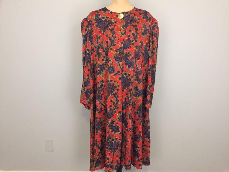 ad95e9b7902 Womens Size 3X Dress Tunic Shift Dress Long Sleeve Loose Midi
