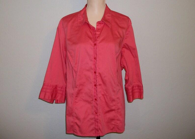 6336f75725e17 Womens Blouse Plus Size 2X Loose Shirt Jacket Womens Cardigan   Etsy