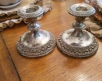 Vintage Silver Candlesticks 631e5d35d1