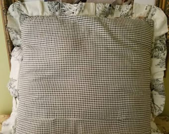 French Country Toile Pillow