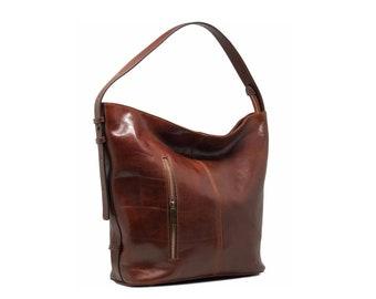 da82e698fcee8 4 Colors - Leather Shoulder Bag