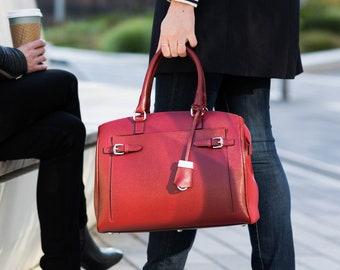 23f1149ea01e2 4 Colors Leather Shoulder Bag Handmade Leather Bag