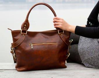 d0ca110a56a10 Handmade Leather Bag