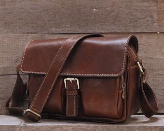 5db7210e4d50 Leather camera bag